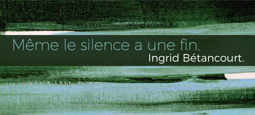 Le livre événement d'Ingrid Bétancourt