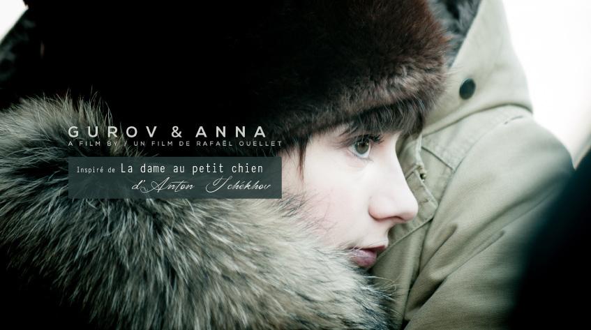 Gurov et Anna, un film tiré du livre d'Anton Tchékhov