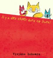 Il y a des chats dans le livre de Viviane Schwarz
