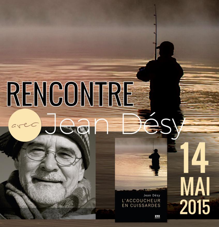 Jean Désy sera à la librairie La Liberté pour une causerie exceptionnelle