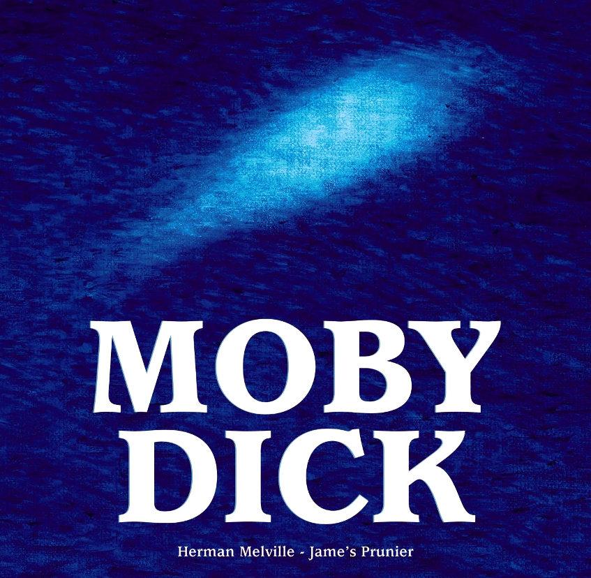 Moby dick de Melville adapté en jeunesse par Finateu et Prunier