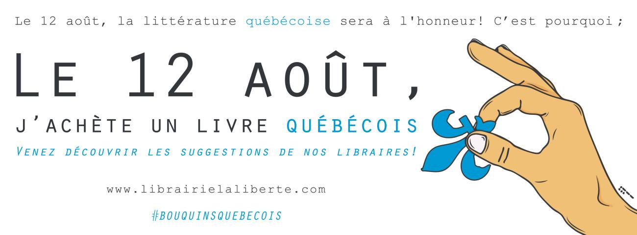 12 août - livre québécois